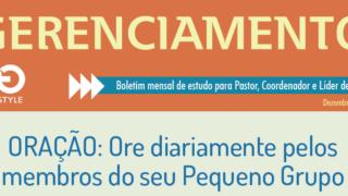 Boletim Gerenciamento de PG – Dezembro/16