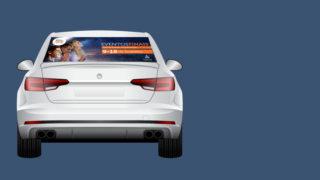 Adesivo para Carros – 10 Dias de Oração 2017
