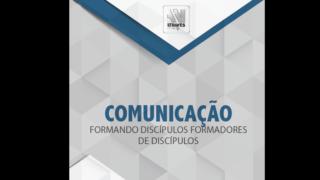 Folder – Comunicação formando discípulos formadores de discípulos