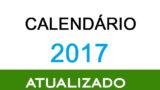 CALENDÁRIO ACSR 2017 – ATUALIZADO