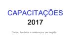 CAPACITAÇÕES 2017