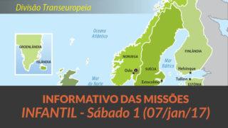 Informativo das Missões – Infantil (Sáb 07/01/17)