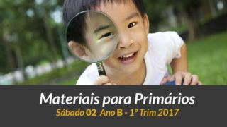 Materiais: Primários – Sábado 14/01 – 1Trim 2017