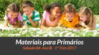 Materiais: Primários – Sábado 28/01 – 1Trim 2017