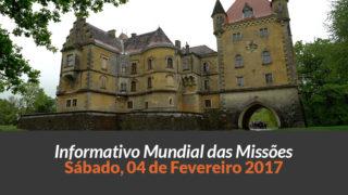 Sábado 04/fev – Informativo das Missões (1ºTrim/2017)