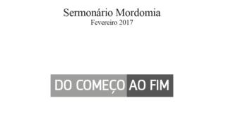 Sermonário Mordomia – Fevereiro 2017
