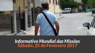 Sábado 25/fev – Informativo das Missões (1ºTrim/2017)