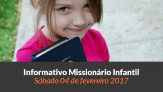 (Sáb 04/fev/2017) Informativo Missionário Infantil