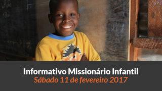 (Sáb 11/fev/2017) Informativo Missionário Infantil
