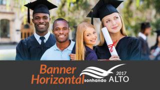 Banner Horizontal: Sonhando Alto 2017/2018