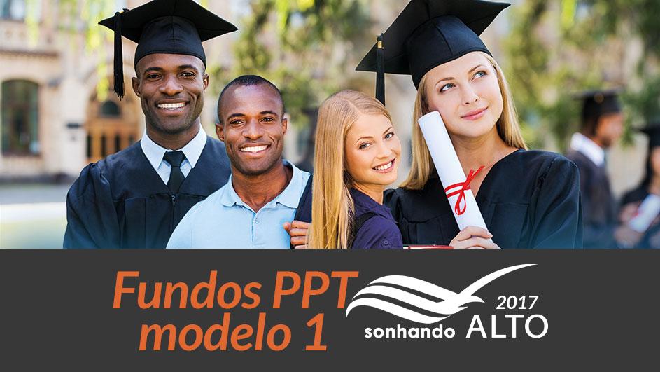 Fundos PPT modelo 1: Sonhando Alto 2017