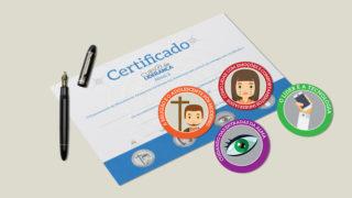Nível 3: Selos e Certificado – Curso de Liderança Adolescentes