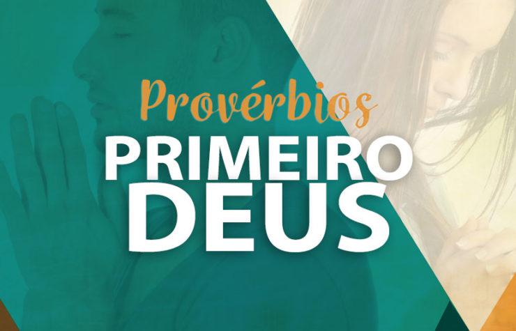 Apostila Provébios – Primeiro Deus