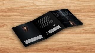 Convite encarte e label DVD: Escolhas – Reencontro 2017