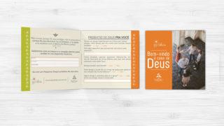Folheto Igreja Acolhedora – Ministério da Recepção