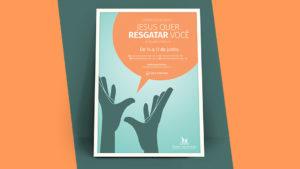 Convite e Cartaz: Evangelibras 2017