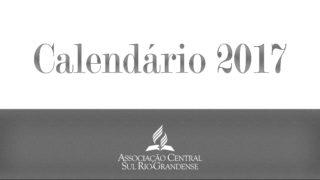 Calendário ACSR 2017