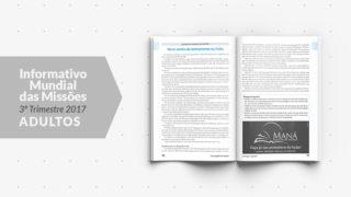 Livreto: Informativo Mundial das Missões (3ºTrim/2017 – Adultos)
