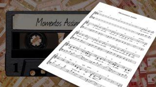 MP3 e Partitura 3: Momentos Assim
