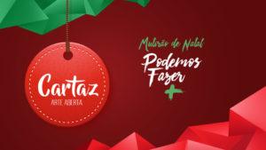 Cartaz – Arte Aberta – Mutirão de Natal | 2017