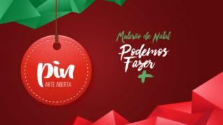 Pin (boton) – Mutirão de Natal | 2017