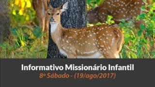 (Sáb 19/ago/2017) – Informativo Missionário Infantil