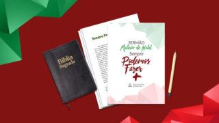 Sermão – Mutirão de Natal 2017