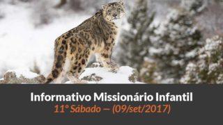 (Sáb 09/set/2017) – Informativo Missionário Infantil