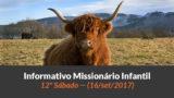 (Sáb 16/set/2017) – Informativo Missionário Infantil