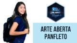 Arte Aberta Panfleto – Um Ano em Missão 2018