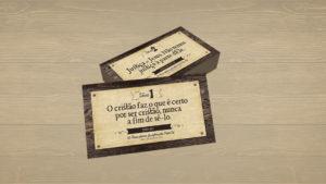 Cartões: 95 Teses Sobre Justificação Pela Fé