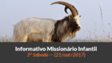(Sáb 21/out/2017) – Informativo Missionário Infantil