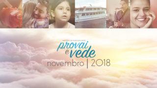 Novembro – Provai e Vede 2018