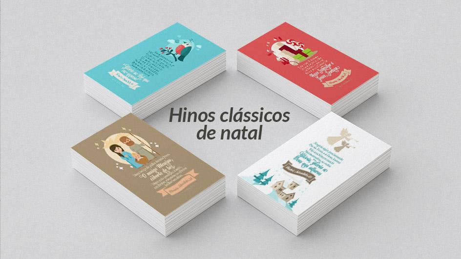 Cartões Hinos De Natal Downloads De Materiais