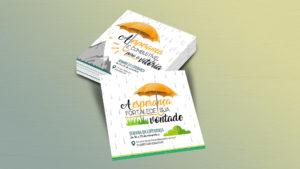Cartões: convite e lembrancinha