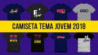 Arte Aberta Camiseta Tema Jovem 2018
