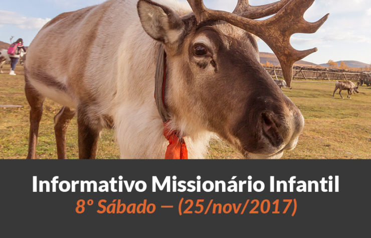 (Sáb 25/nov/2017) – Informativo Missionário Infantil
