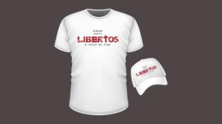 Camiseta e Boné: Libertos – Semana Santa 2018