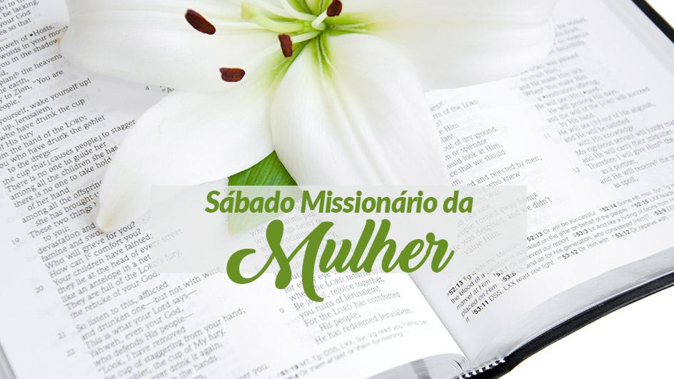 Sábado Missionário da Mulher