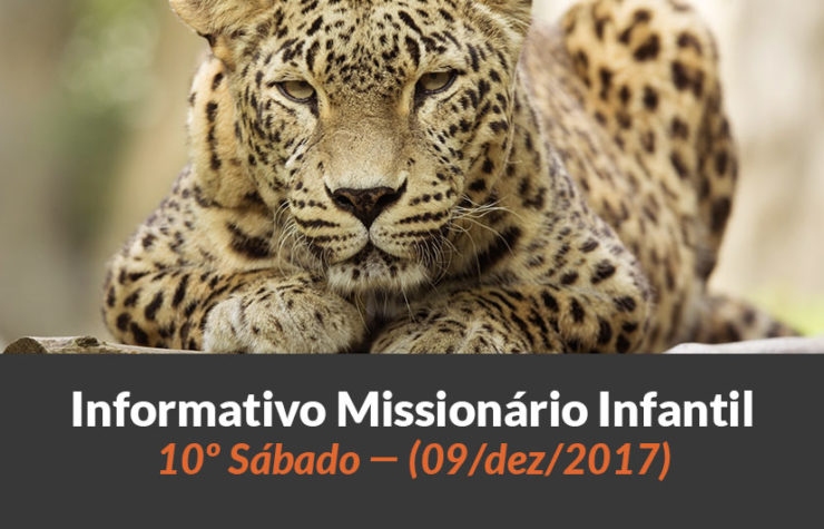 (Sáb 09/dez/2017) – Informativo Missionário Infantil
