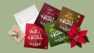 Cartões: Natal o Ano Todo