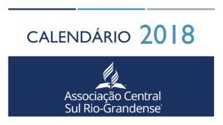 Calendário ACSR – 2018