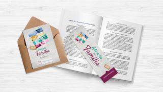 Convite e Marca páginas – Adoração em Família 2018