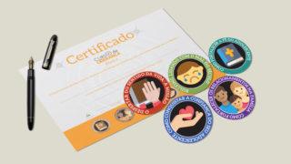 Nível 4: Selos e certificados – Curso de Liderança Adolescentes