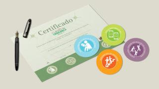Nível 2: Selos e Certificado – Curso de Liderança Adolescente