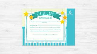 Certificado de Bebê Menino – Ministério da Família