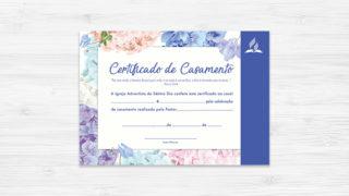Certificado de Casamento – Ministério da Família