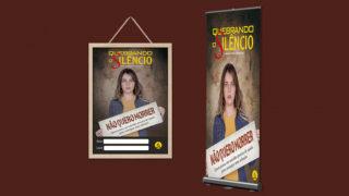 Banner e Cartaz: Quebrando o Silêncio 2018