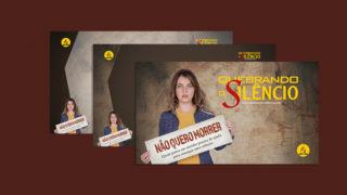 Telas p/ Slides: Quebrando o Silêncio 2018