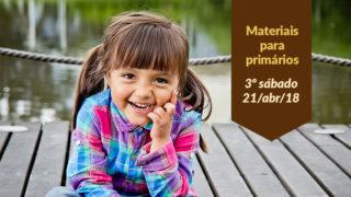(3ºSáb 2Trim18-Ano C) Materiais Primários